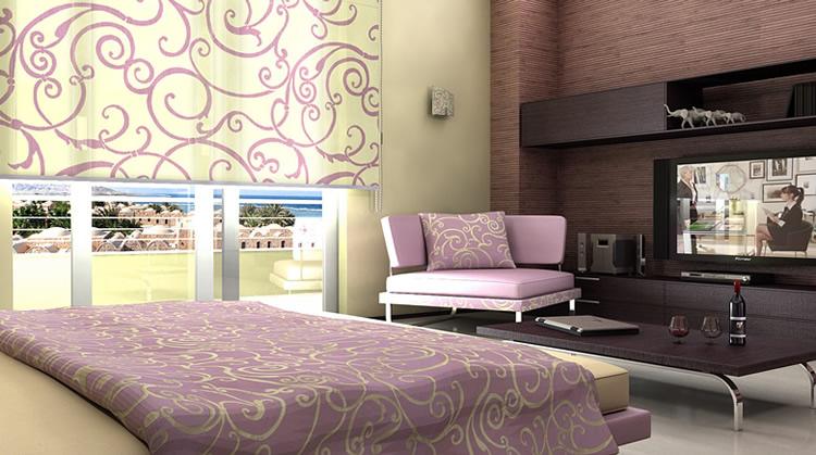 Bari produzione tendaggi tende a pannello rullo classiche - Tende camere da letto ...